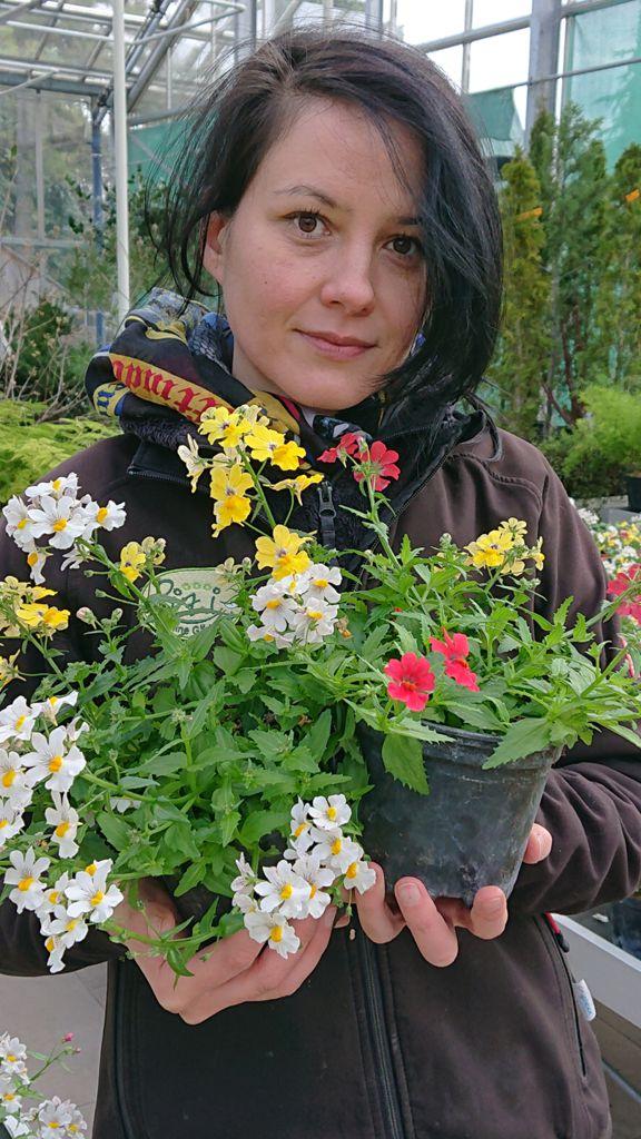 Dewi, Gartenfacharbeiterin Baumschule Freigelände (Studium Biologie)
